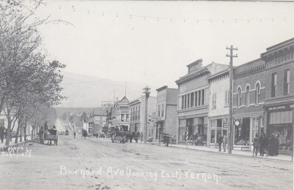 Avenue Bernard, Vernon; ca. années 1900 (SHFCB)