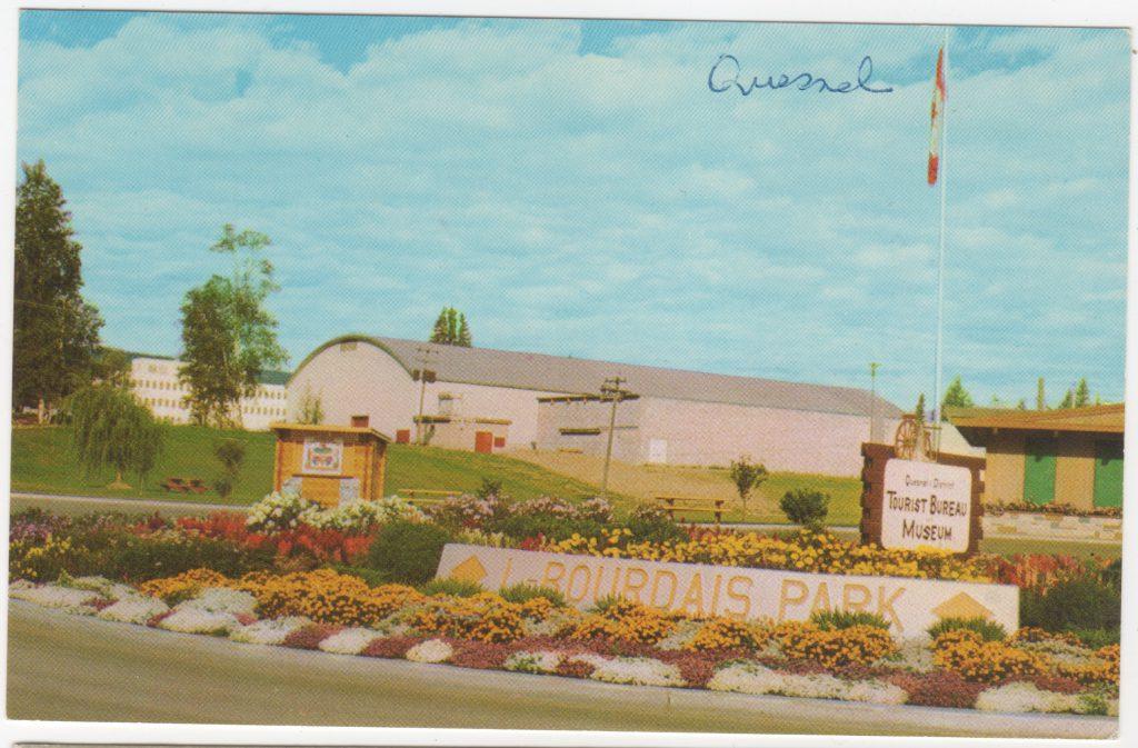 Parc LeBourdais Park, Quesnel; ca. années 1960 (SHFCB 201-.02.126)