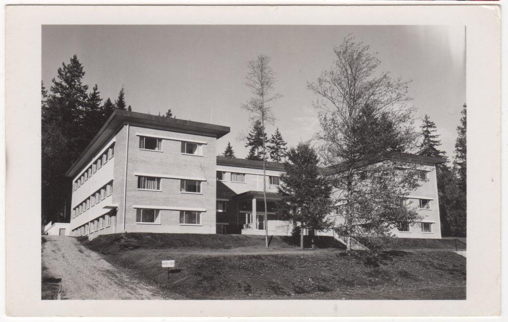 Nouveau Couvent, Maillardville, Coquitlam, 1961 (SHFCB 2016.02.204)