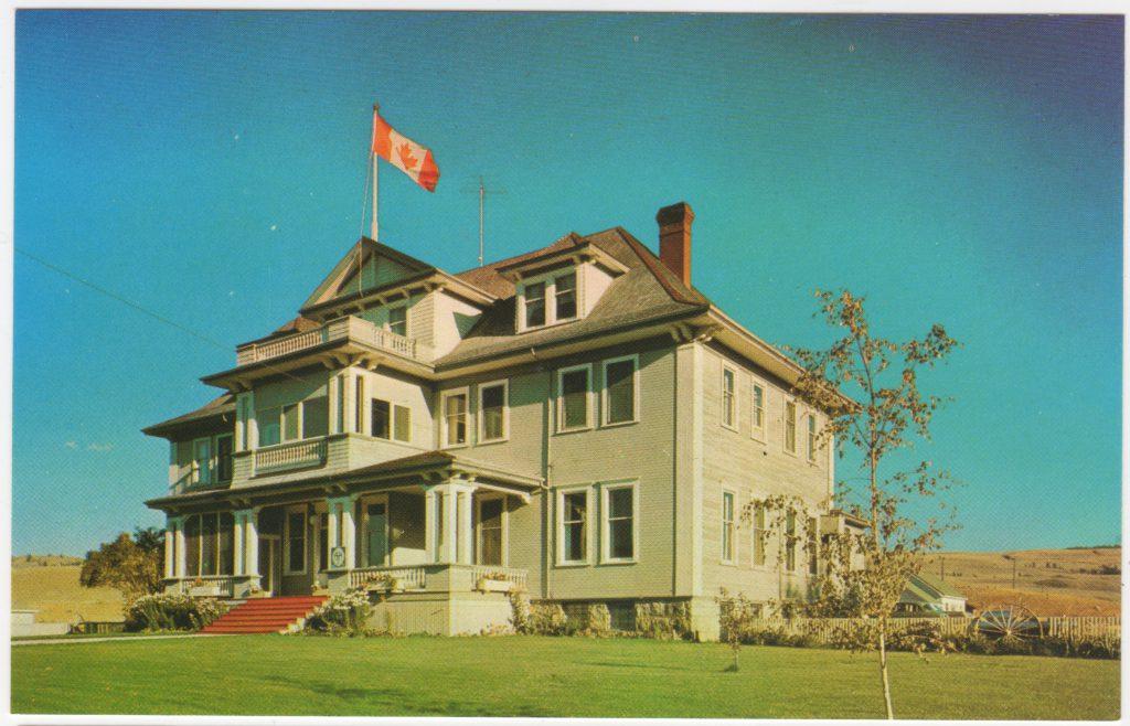 Hôtel Quilchena, Quilchena, famille Guichon, près de Merritt; ca. années 1950 (SHFCB 2016.02.114)