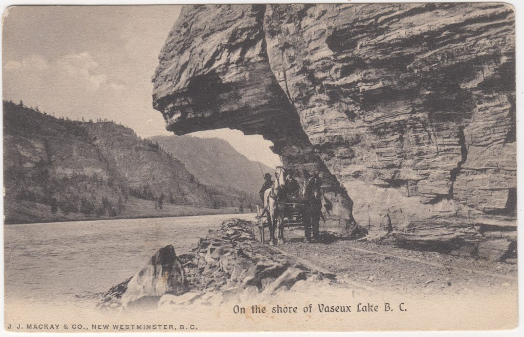 Lac Vaseux; postée en 1907. (SHFCB 2016.02.184)