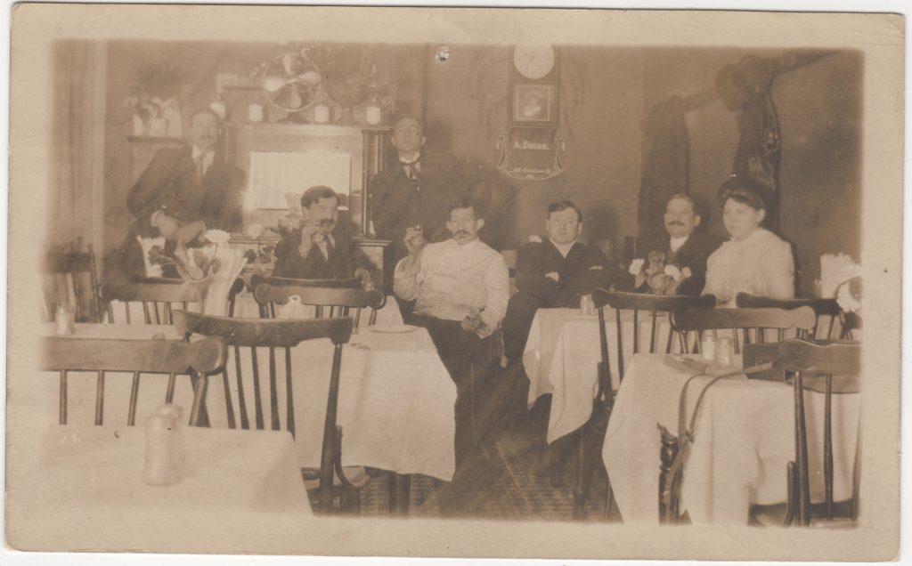 Restaurant français, Vancouver; ca. années 1900 (SHFCB)
