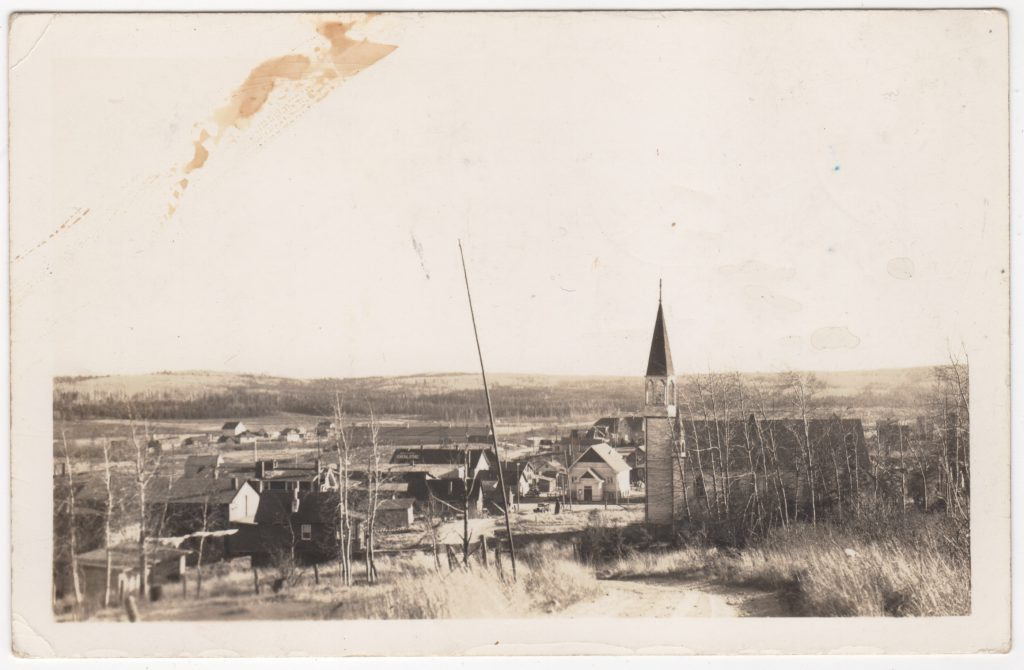 Église catholique, Prince George; ca. années 1910 (SHFCB)