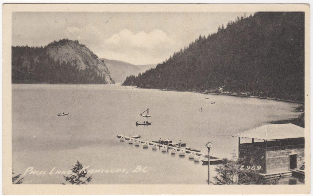Lac Paul, Kamloops; ca. années 1930 (SHFCB 2016.02.174)