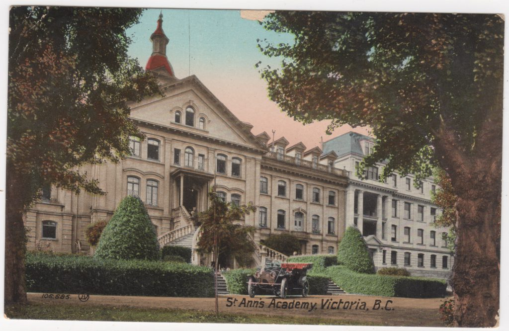 Académie St. Ann's Academy, Victoria; postée en 1911 (SHFCB (2016.02.131)